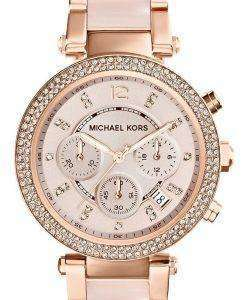 Michael Kors Parker Swarovski Crystals MK5896 Womens Watch