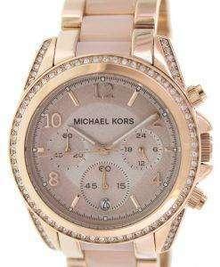 Michael Kors Blair Chronograph Crystals MK5943 Womens Watch