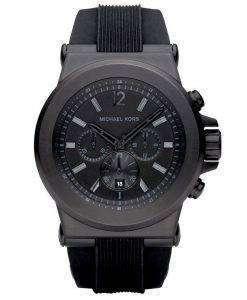 Michael Kors Black Silicone Strap MK8152 Mens Watch