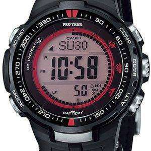 Casio Protrek Digital Atomic Tough Solar Triple Sensor PRW-3000G-1D Watch