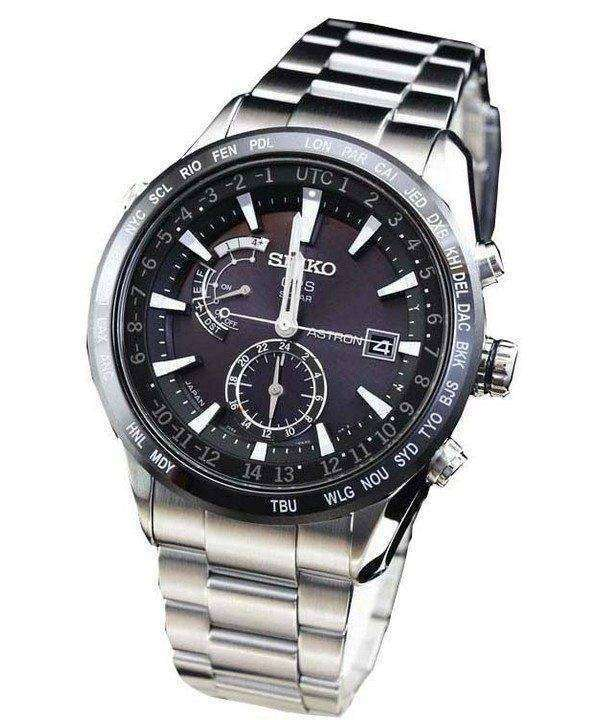 Seiko Astron GPS Solar SBXA021 Mens Watch