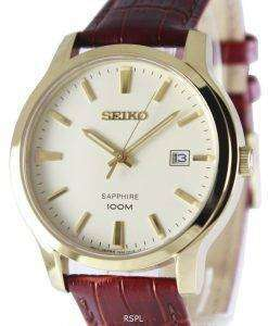 Seiko Neo Classic Quartz Sapphire 100M SGEH44P1 SGEH44P Men's Watch