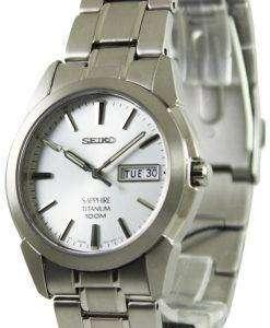 Seiko Titanium Sapphire SGG727P1 SGG727P SGG727 Mens Watch