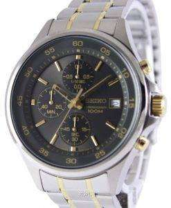 Seiko Chronograph Quartz 100M SKS481P1 SKS481P Mens Watch