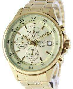 Seiko Chronograph Quartz 100M SKS482P1 SKS482P Mens Watch