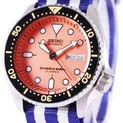 Seiko Automatic Divers 200M NATO Strap SKX011J1-NATO2 Mens Watch