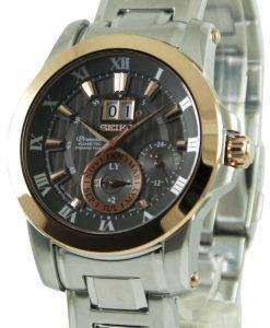 Seiko Premier Kinetic Perpetual Calendar SNP114P1 SNP114P Mens Watch