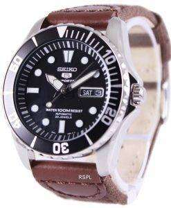 Seiko 5 Sports Automatic Canvas Strap SNZF17K1-NS1 Mens Watch