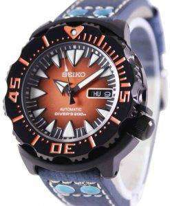 Seiko 5 Sports Automatic Divers 200M Ratio Blue Leather SRP311K1-LS5 Mens Watch