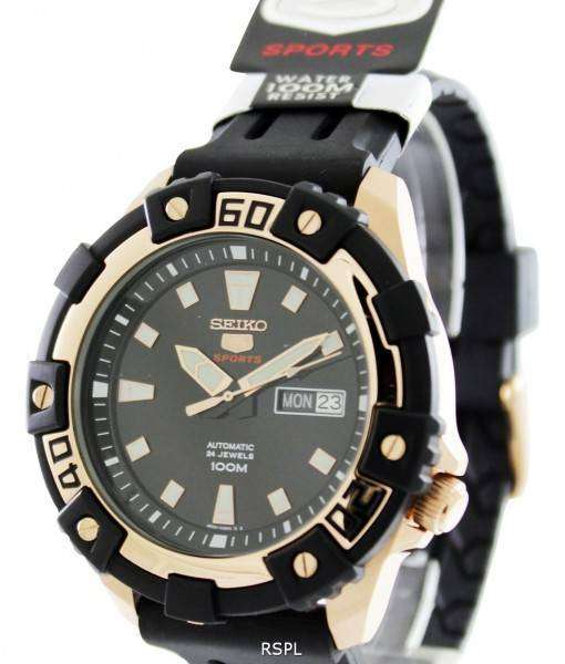 Seiko 5 Sports Automatic 24 Jewels SRP480K1 SRP480K Mens Watch