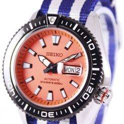 Seiko Superior Automatic Divers 200M NATO Strap SRP497K1-NATO2 Mens Watch