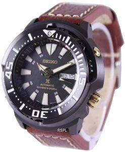 Seiko Prospex Baby Tuna Automatic Divers 200M Leather Strap SRP641K1-LS1 Mens Watch