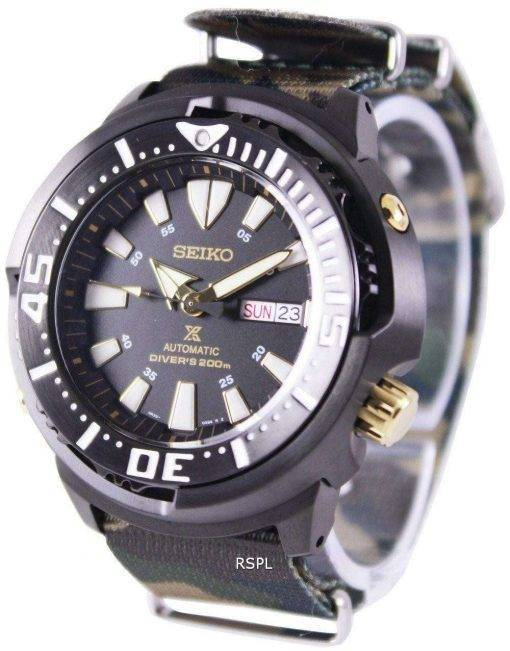 Seiko Prospex Baby Tuna Automatic Divers 200M SRP641K1-NATO5 Mens Watch