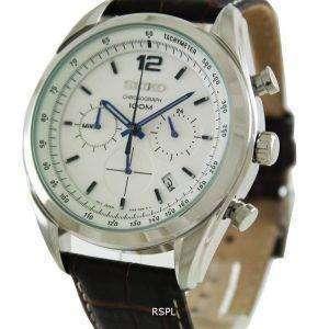 Seiko Chronograph Tachymeter SSB095P1 SSB095P SSB095 Mens Watch