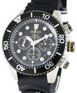 Seiko Solar Chronograph SSC021P1 Mens Watch