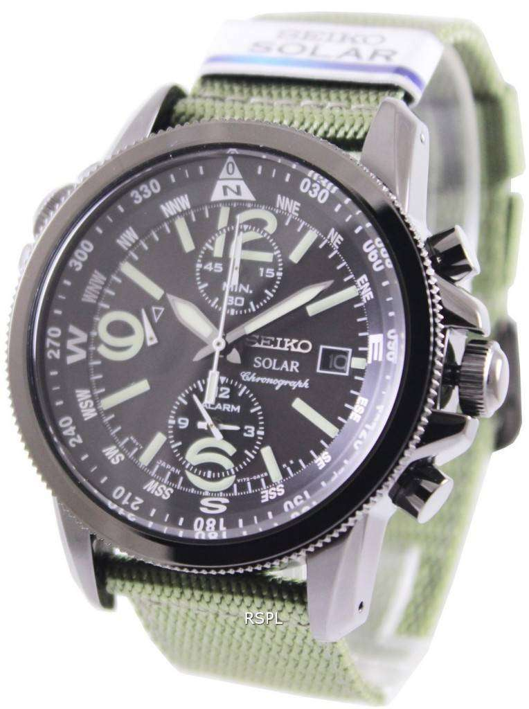 Seiko Prospex Solar Chronograph SSC137P1 SSC137P Mens Watch