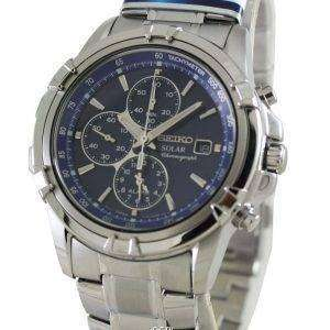 Seiko Chronograph Solar Alarm SSC141P1 SSC141P SSC141 Mens Watch