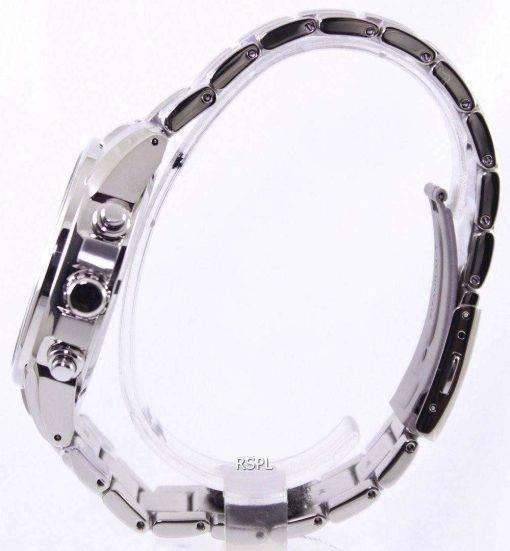 Seiko Solar Titanium Chronograph SSC365P1 SSC365P Mens Watch