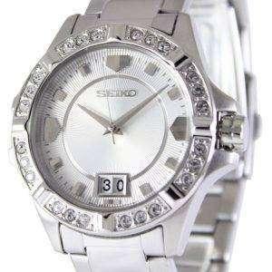 Seiko Quartz Crystals White Dial SUR809P1 SUR809P Women's Watch
