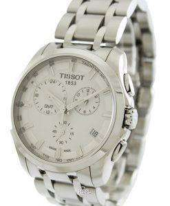 Tissot Couturier Quartz GMT T035.439.11.031.00 Mens Watch