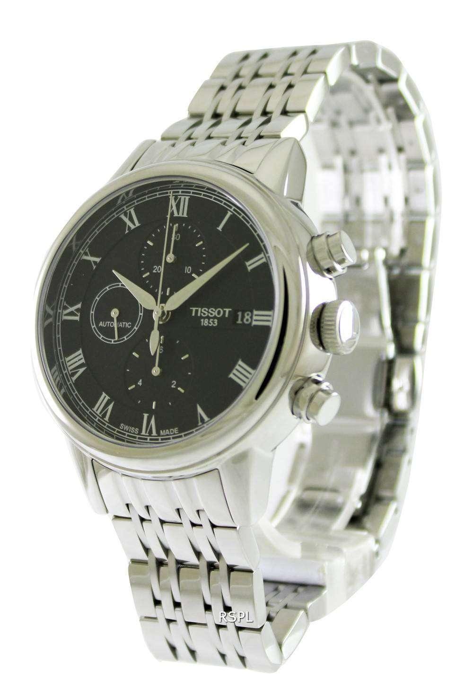 38893699373 Tissot Carson Automatic Chronograph T085.427.11.053.00 Mens Watch