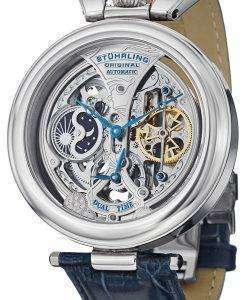 Stuhrling Original Emperor's Grandeur Automatic Dual Time 127A.3315C2 Mens Watch