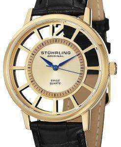 Stuhrling Original Winchester Del Sol Swiss Quartz Gold-Tone 388S.333531 Mens Watch