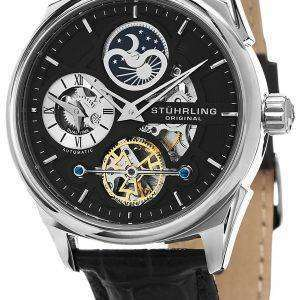 Stuhrling Original Special Reserve Delphi Dual Time 657.02 Mens Watch