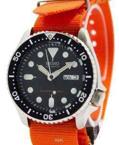 Seiko Automatic Diver's 200M NATO Strap SKX007K1-NATO7 Men's Watch