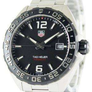 Tag Heuer Formula One Black Dial Stainless Steel WAZ1110.BA0875 Men's Watch