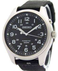 Seiko Kinetic Black Dial 100M SKA727P1 SKA727P Men's Watch