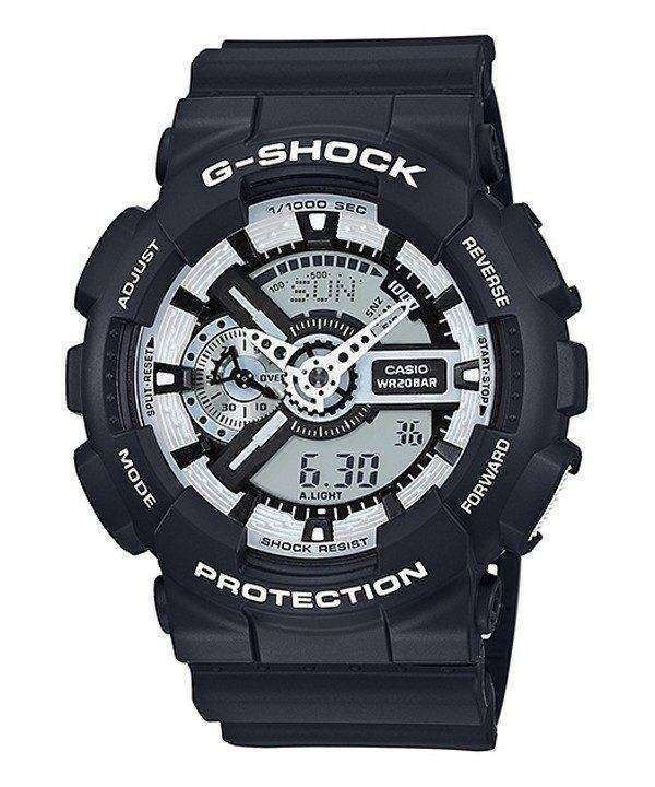 Casio G-Shock White And Black Series GA-110BW-1A Men's Watch