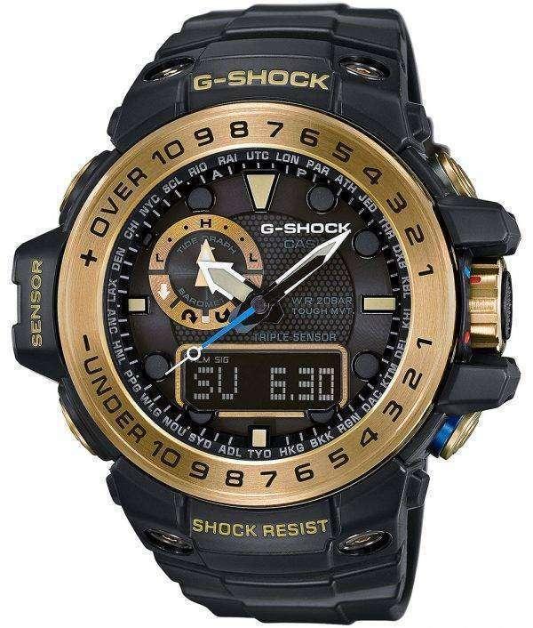 Casio G-Shock GULFMASTER Atomic Analog Digital GWN-1000GB-1A Mens Watch