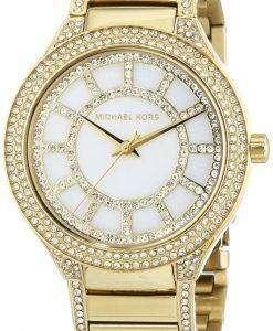 Michael Kors Kerry Crystal Accent Gold Tone MK3312 Women's Watch