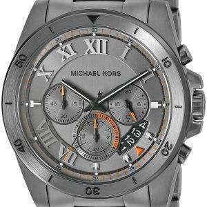 Michael Kors Brecken Gunmetal Tone Chronograph MK8465 Men's Watch