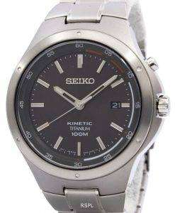 Seiko Kinetic Titanium Power Reserve SKA713P1 SKA713P SKA713 Men's Watch