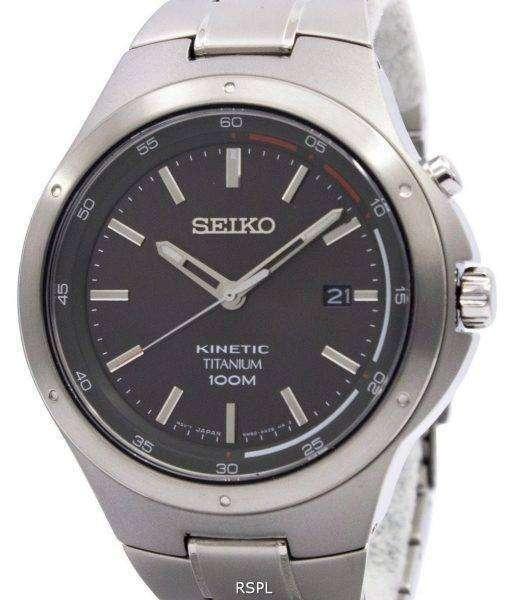 Seiko Kinetic Titanium Power Reserve SKA713P1 SKA713P SKA713 Men's Watch
