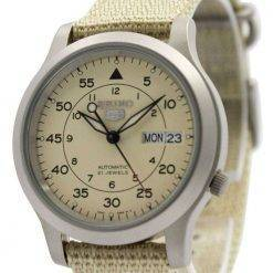 Seiko 5 Military Automatic Nylon Strap Mens Watch SNK803K2 SNK803K SNK803