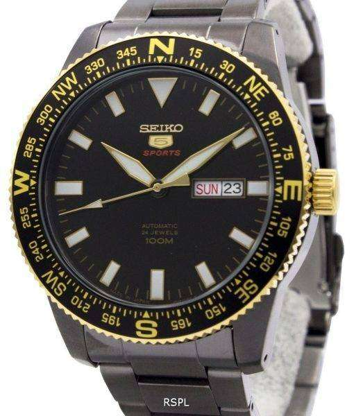 Seiko 5 Sports Automatic 24 Jewels Japan Made 100M SRP670J1 SRP670J Men's Watch