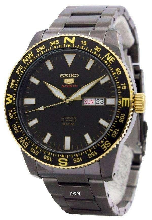 Seiko 5 Sports Automatic 24 Jewels Japan Made 100M SRP670J1 SRP670J Men's Watch