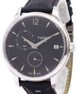 Tissot T-Classic Tradition GMT T063.639.16.057.00 T0636391605700 Men's Watch