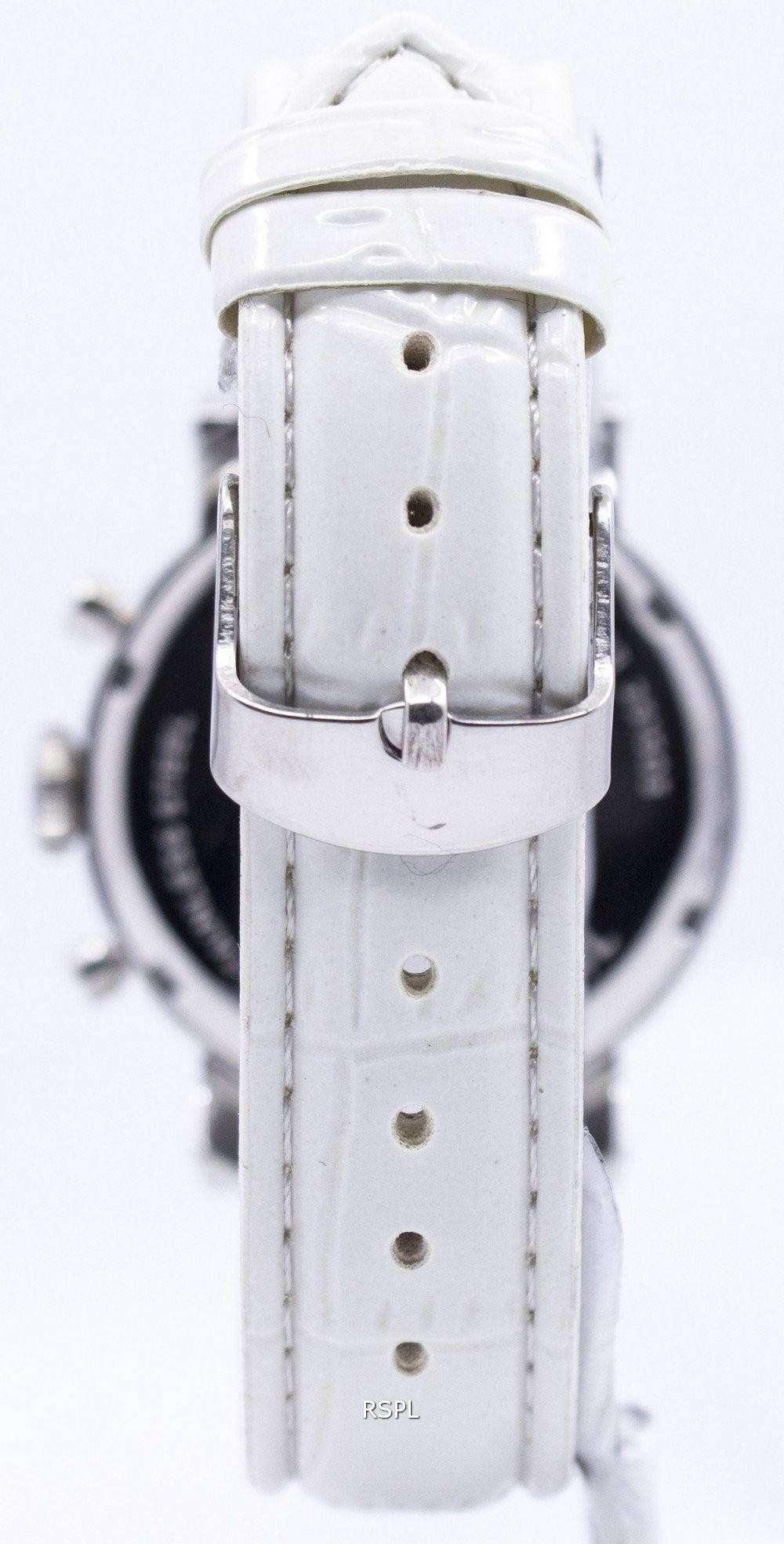 Fossil Original Boyfriend Chronograph Stainless Steel C181018 Wht Es3862 Womens Watch