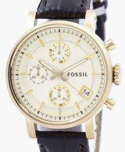 Fossil Original BoyFriend Chronograph Stainless Steel C181019-BRW Womens Watch