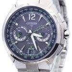 Citizen Eco-Drive Attesa Satellite Wave Air GPS 100M CC1091-50F Men's Watch