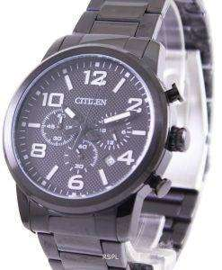 Citizen Black IP Quartz Chronograph AN8055-57E Mens Watch