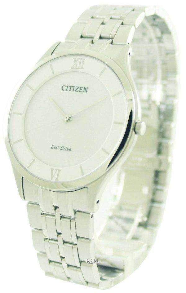Citizen Eco-Drive Stiletto Super Thin AR0071-59A Mens Watch