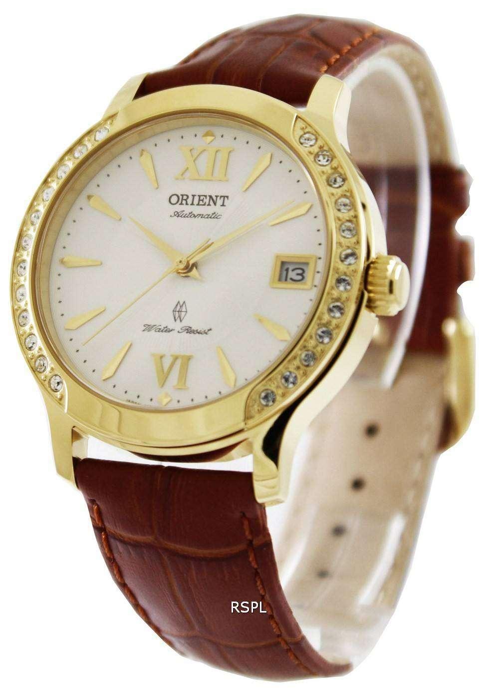 Orient automatic swarovski crystals er2e003w womens watch for Swarovski crystals watch