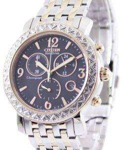 Citizen Eco-Drive Chronograph FB1296-51H Womens Watch