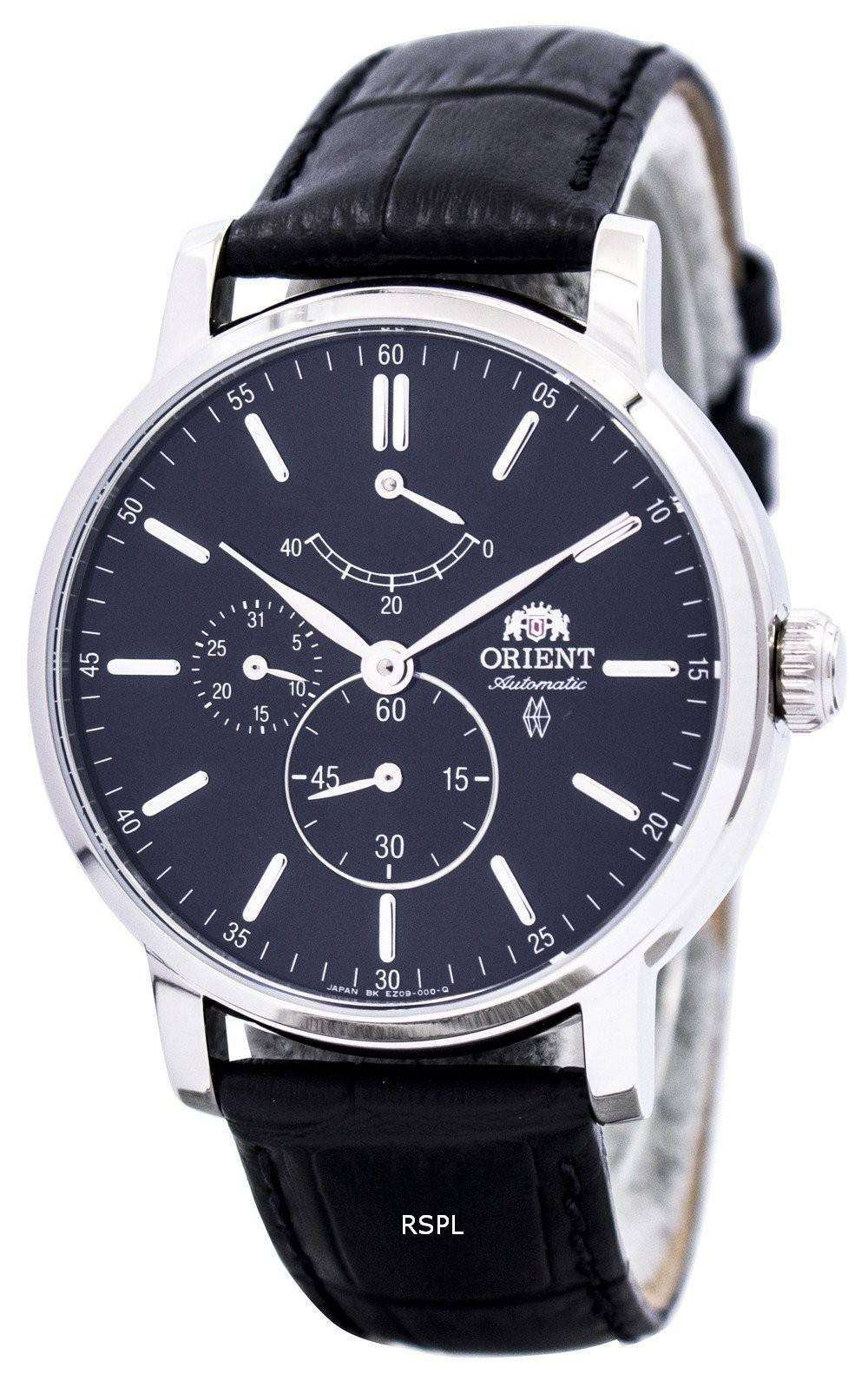 Good Watch Brands For Men >> Orient Automatic FEZ09003B Power Reserve Mens Watch