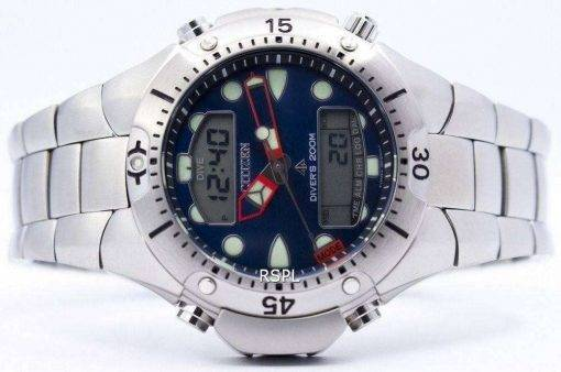 Citizen Aqualand Diver Depth Meter Promaster Sea Watch JP1060-52L JP1060